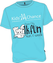 Kids Chance of Maryland MWCEA Ocean City 1K Fundraiser